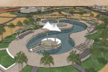 Dammam University Beachresort - Site Development